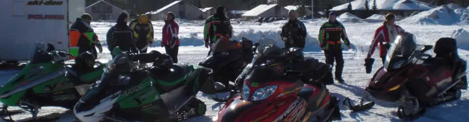 Drifters Snowmobile Club Ride